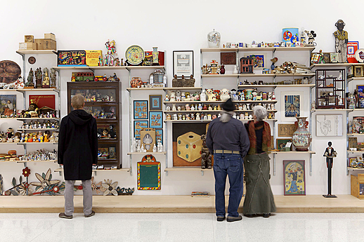 Exhibition view of 9 Artists, 2014
