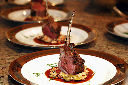 Catering by Culinaire: Lamb Plate