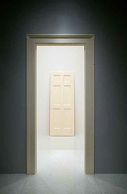 robert gober untitled door and door frame 19871988 19871988