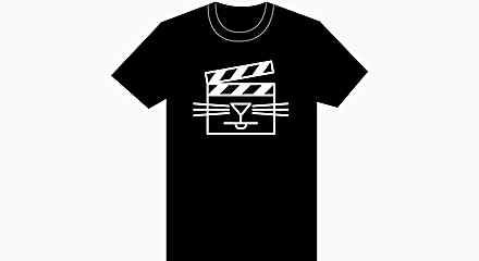 Cat Video Festival T-Shirt - Black Icon